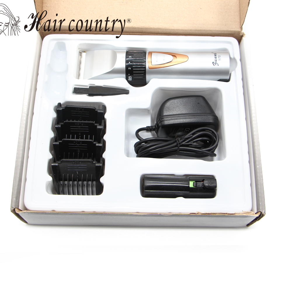 2017 Hot Sale New Style Rechargeable Stainless Steel Blade Shaver Razor Beard Body Hair Clipper Cutting Trimmer Kit 100v-240v rechargeable hair clipper with accessories set 220 240v ac
