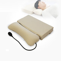 Tcare inflatable cervical support cushion health neck protect adult spine pillow with cervical special traction sleep support