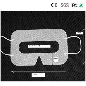 Image 3 - Linhuipad Universal 100 pack Hygiene VR Mask Pad Black Disposable Eye mask for Vive Oculus Rift 3D Virtual Reality Glasses