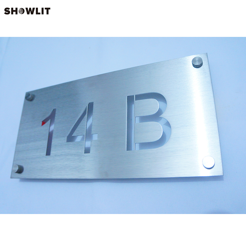 Modern Style Brushed Stainless Steel Law Office Signs Custom Made AvailableModern Style Brushed Stainless Steel Law Office Signs Custom Made Available