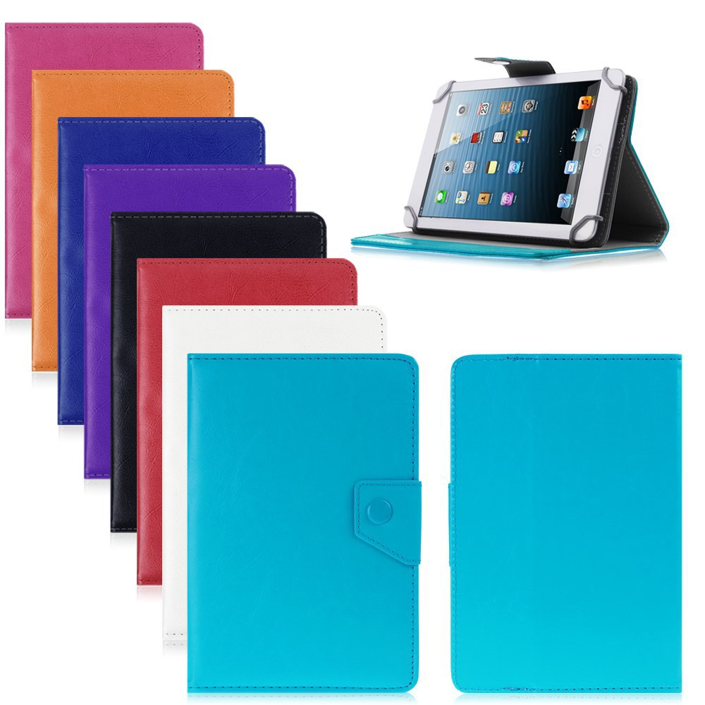 Wholesale android tablet 10 inch - Tablet Case 8 Inch Pu Leather Stand Case Cover For Universal Android Tablet Pc Pad Tablet