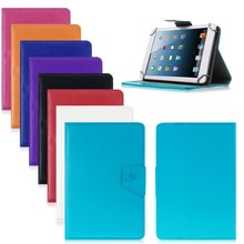 Caja de la tableta de 8 pulgadas de la PU del cuero del soporte cubierta para Universal Android Tablet PC Tablet PAD 8 pulgadas de la tableta accesorios YD