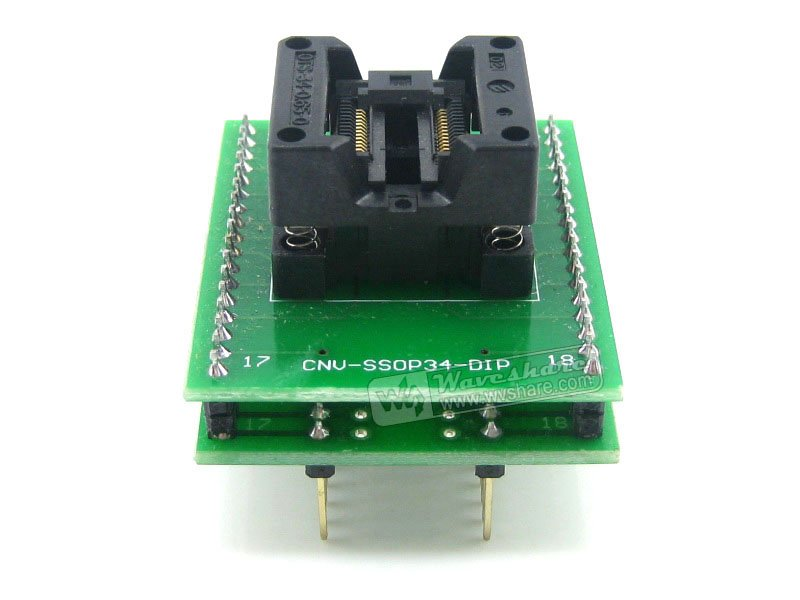 Modules SSOP28 TO DIP28 (B) TSSOP28 Enplas IC Test Socket Programming Adapter 0.65mm Pitch ssop28 to dip28 b tssop28 enplas ic test socket programming adapter 0 65mm pitch