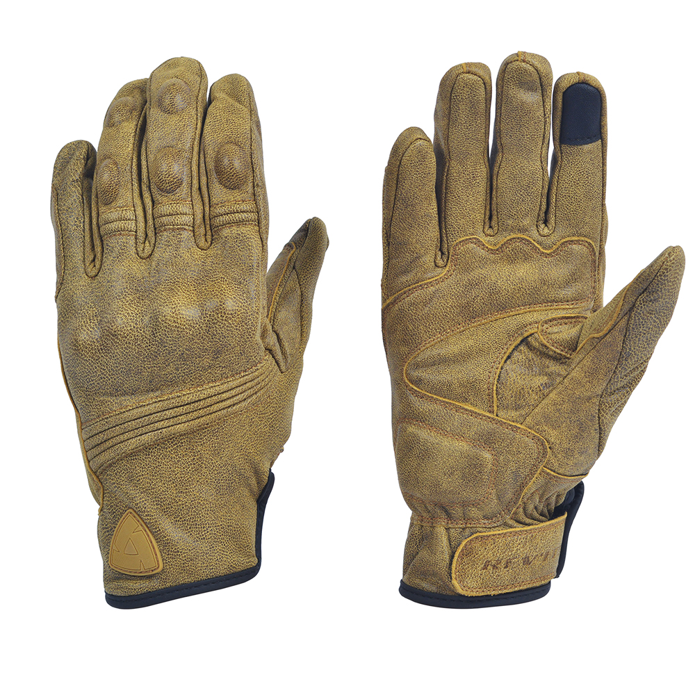 Revit Retro Urban Classic Gloves Cowhide Leather Motorcycle Brown Men's Gloves