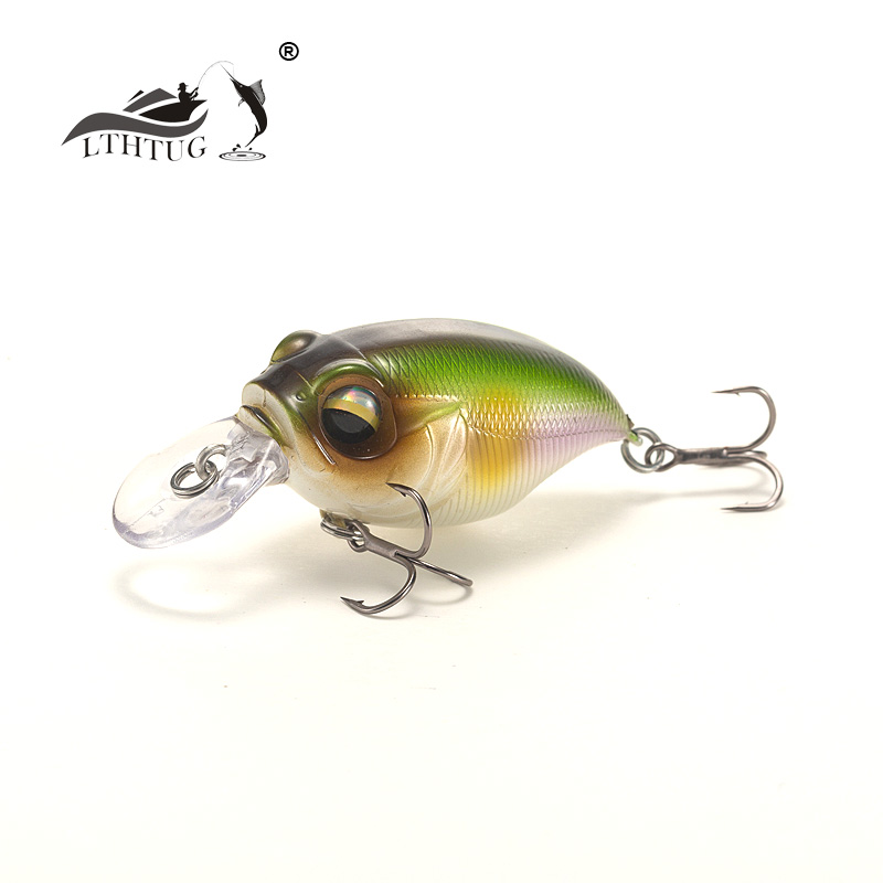 LTHTUG Crank Baits Floating Perch Fishing-Lure Bass Pike Japanese-Design High-Quality