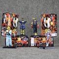 4pcs/lot Street Fighter 4 Chun-Li Ken Ryu Vega PVC Action Figures Collectible Model Toys for Kids 8-10cm Doll