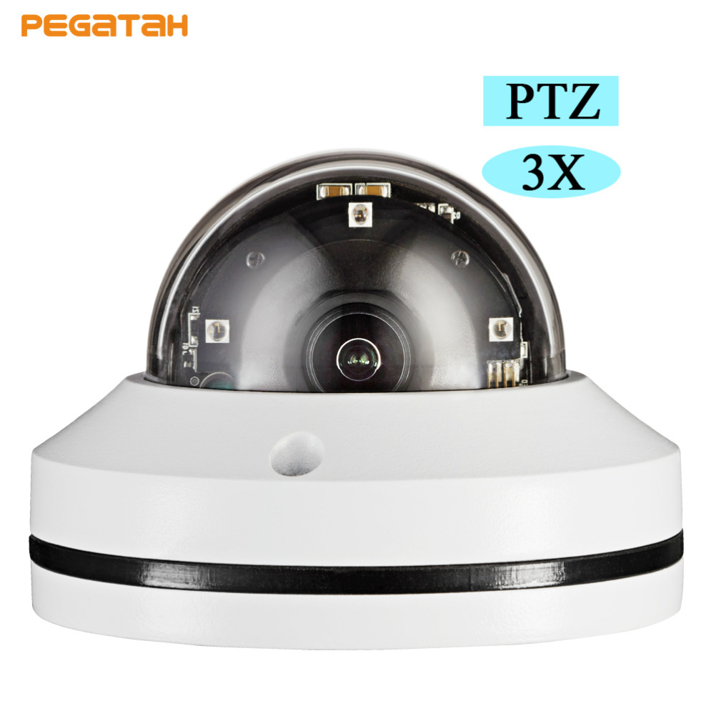 1080P 3X IP PTZ Camera Auto Focus Zoom CCTV Camera MINI Speed Dome Camera 20m IR IP Camera PTZ with OSD menu auto tracking ptz camera 7 inch ir speed dome camera ccd 700tvl 36x optical zoom ir 150m osd menu outdoor ptz camera