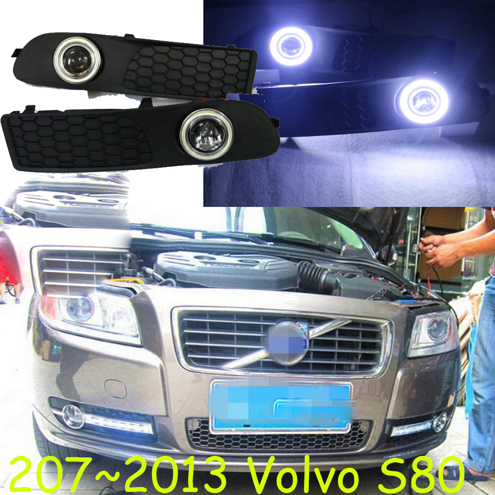2007~2013 Volv S80 fog light,Free ship!halogen,S80 headlight,XC60,XC90,S40,V40,V50,V90,XC70,S60;S80 day lamp