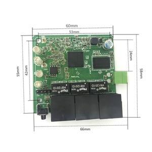 Image 5 - 3 port 10/100 Mbps bezprzewodowej sieci Ethernet moduł routera konstrukcja modułu Ethernet moduł routera Ethernet płytka obwodów drukowanych OEM płyta główna