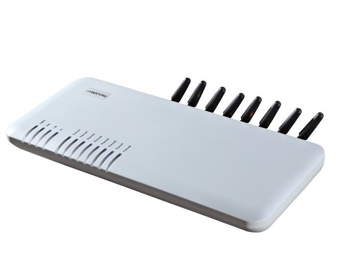 DBL GSM VoIP gateway 8-channel GSM GoIP 8 Sim cards goip-8 gateway