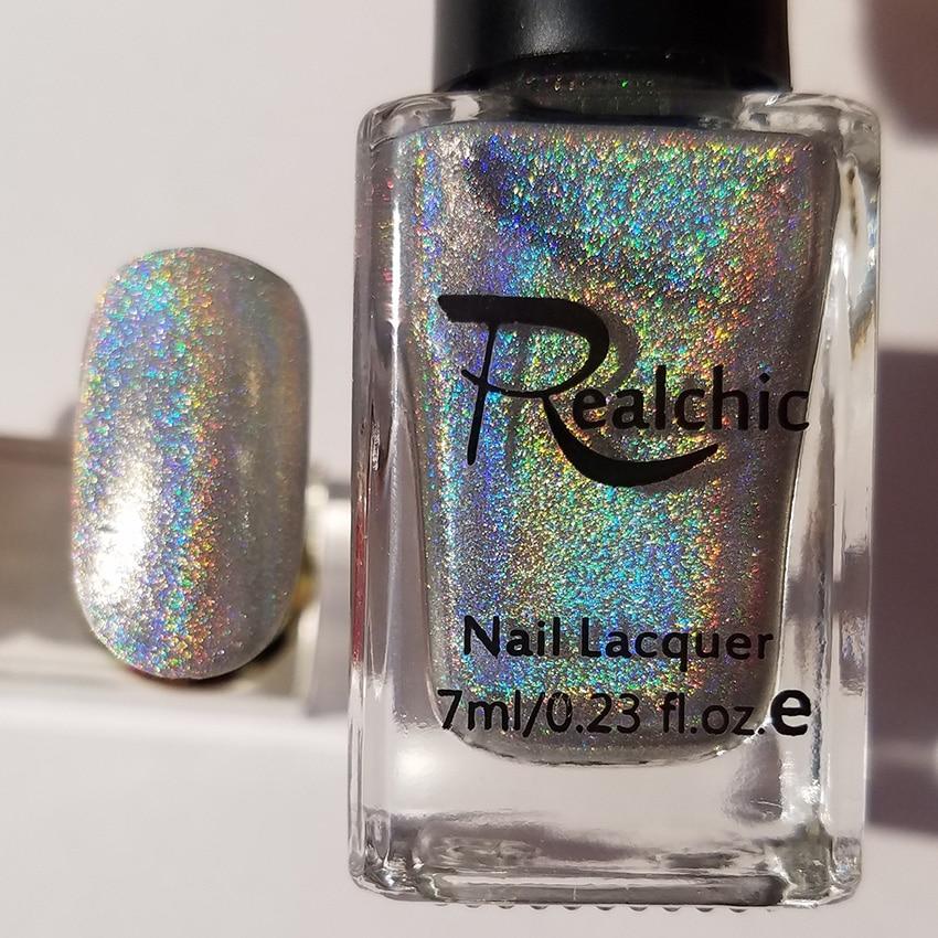 18 colors Brand Holo luminous Glitter Gel Nail Polish Gel Varnish ...