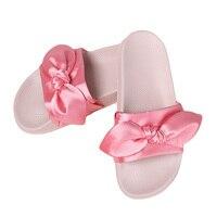 2017 new summer brand women slippers cute bow silk rubber slides home flip flop trendy ladies.jpg 200x200