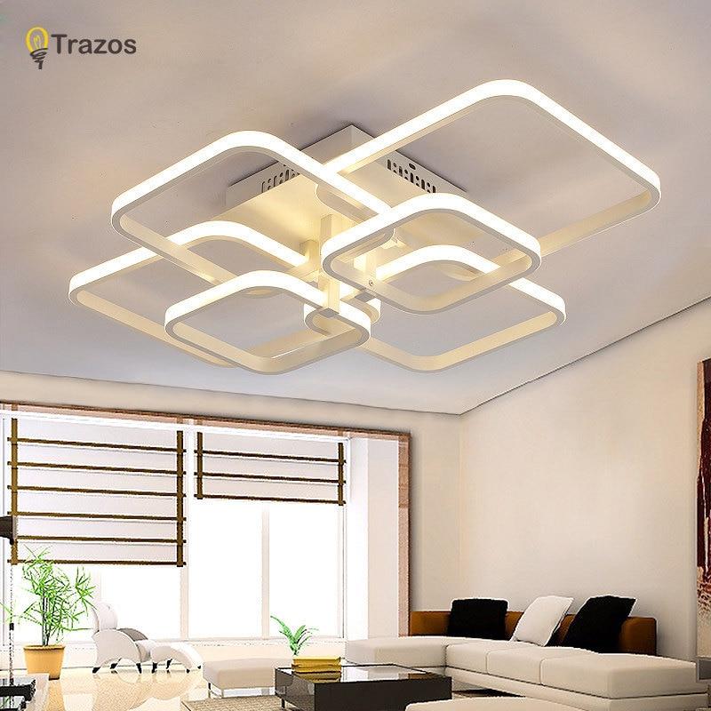 Trazos 2019 Rechteck Acryl Aluminium moderne LED Deckenleuchten für - Innenbeleuchtung - Foto 2