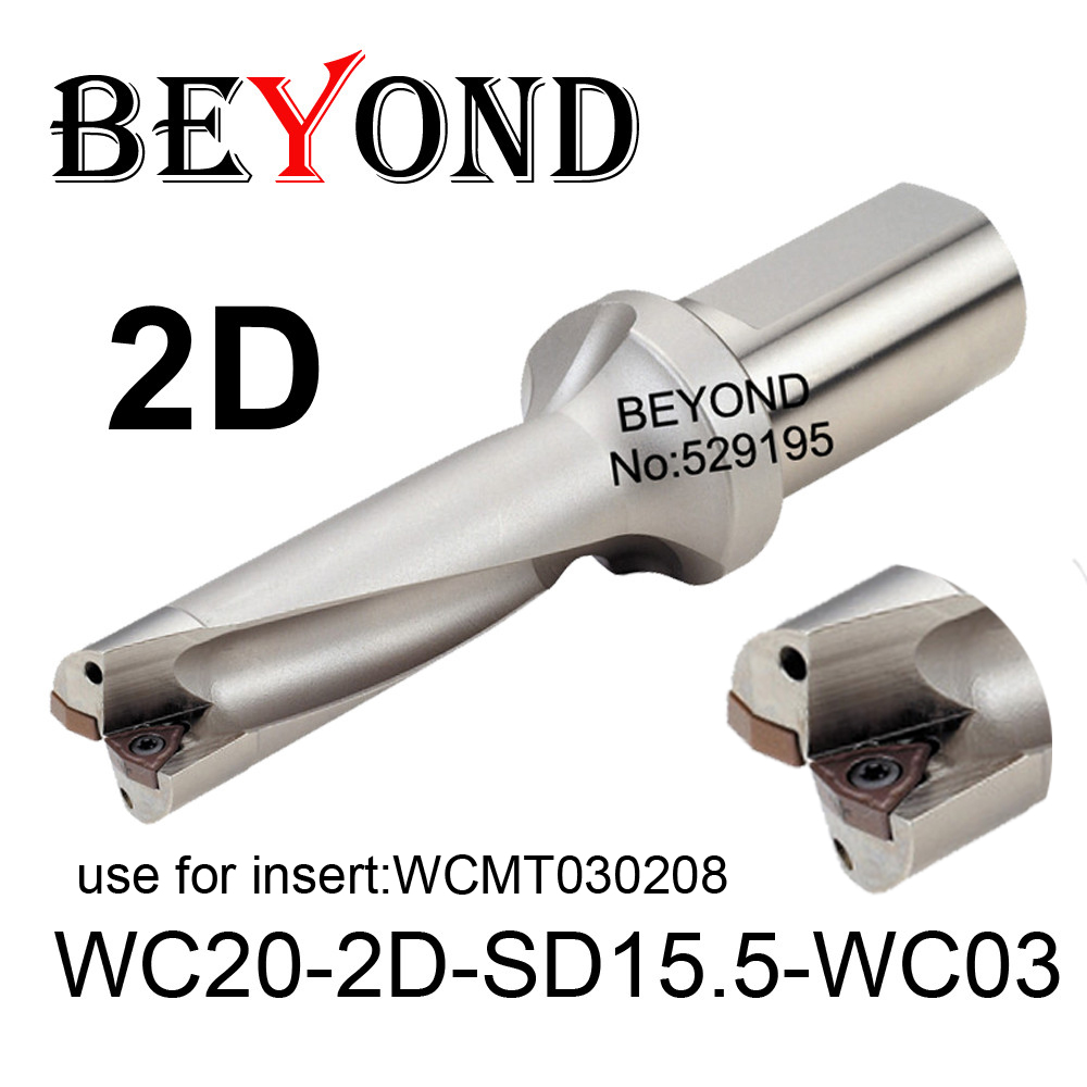 WC20-2D-SD15-WC03/WC20-2D-SD15.5-WC03,Drill Type For Wcmt030208 Insert U Drilling Shallow Hole,indexable insert drills