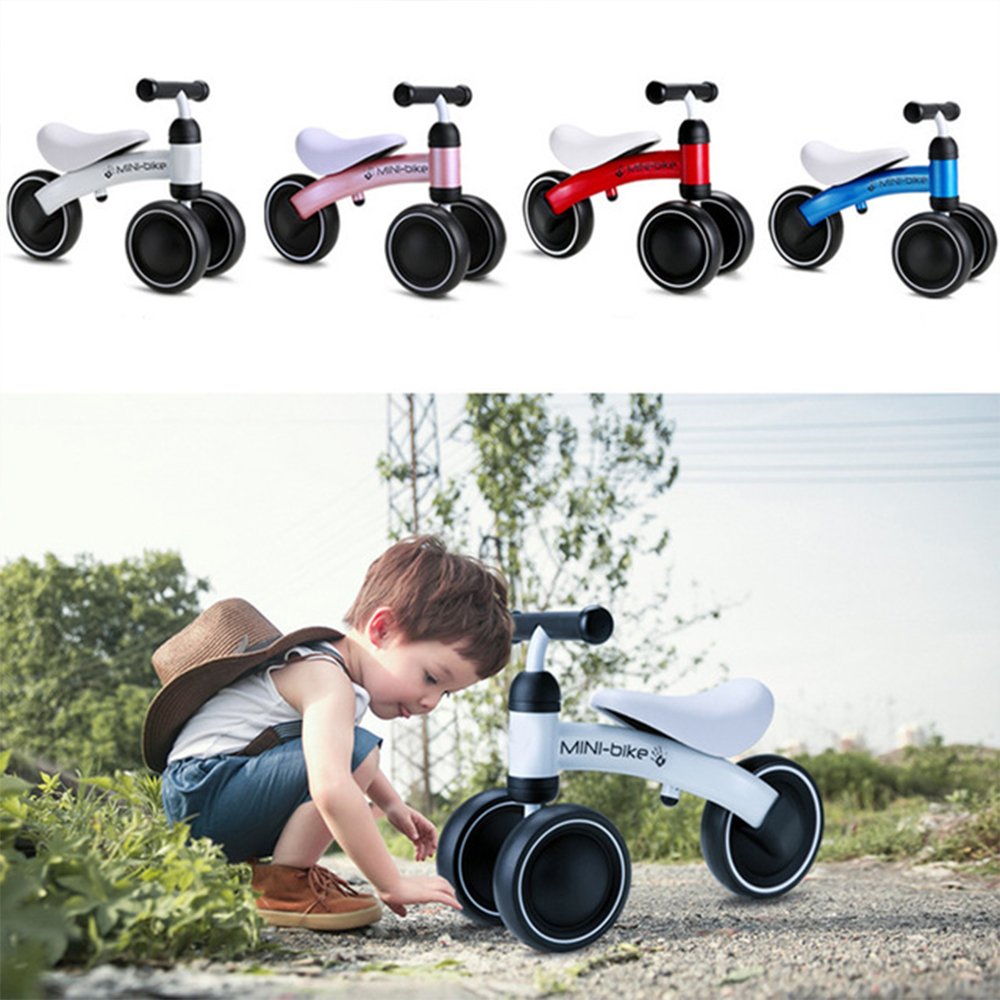 Children Balance Bike Scooter Safe Baby Walker Infant 1-3 Years Learn To Walk No Foot Pedal New Ride On Toys For Baby Play Fun
