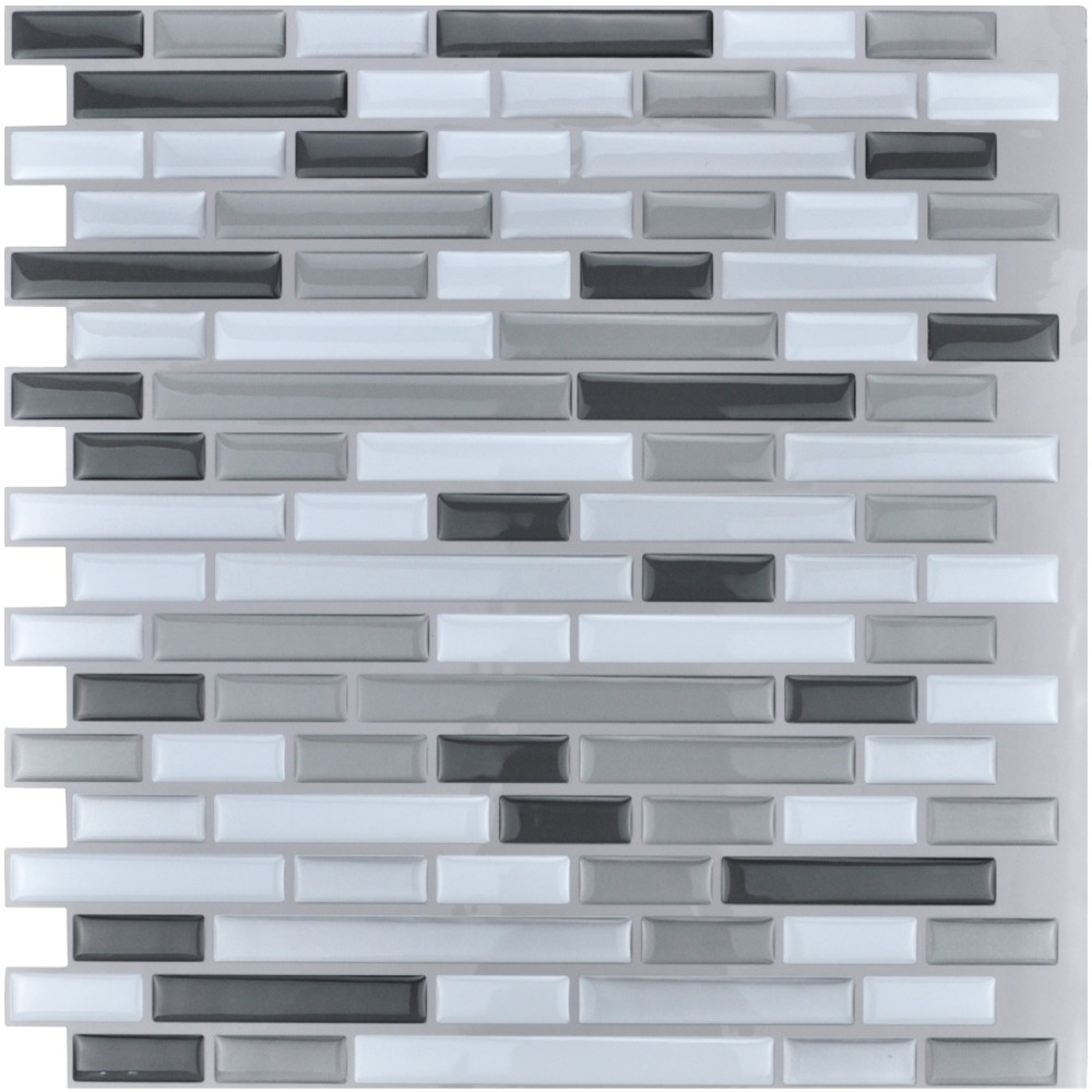 Kitchen Backsplash Peel And Stick Tiles Smart Wallterproof