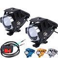125 W Motocicleta Farol faróis de Nevoeiro U5 LED High Low Feixe Flash Condução Spot Cabeça Da Lâmpada do Farol de Moto Acessórios Do Motor