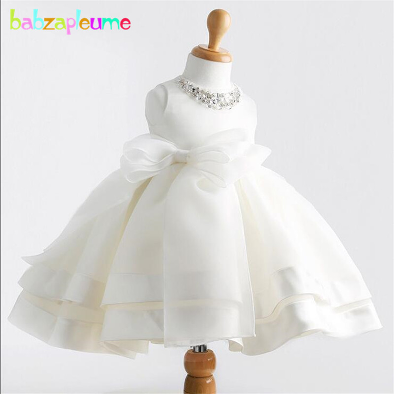 0-24MSummer Kids Girls Princess Costume Children Clothes Infant Girl Toddler Bow Wedding Party tutu Dresses Baby Clothing BC1412
