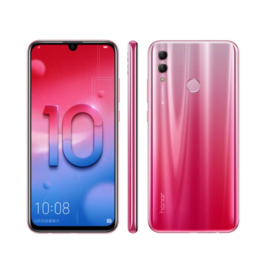 "New Honor 10 lite LTE Mobile Phone 6.21"" 4/6GB RAM 64/128GB ROM Kirin 710 Octa Core 24MP Camera 3400mAh Android 9 Smart phone"