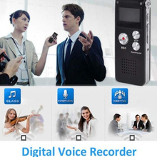 Portable USB Digital Voice Recorder 8G VOR Function Audio Dictaphone Gravador MP3 Player Privat Records Pen Recorder Espiao DVR