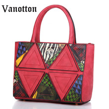 2016 Women's Bag Handbag Pu Leather Tote Bags for Women Handbag Fashion High Quality Woman Shoulder Bag Women Messenger Bags