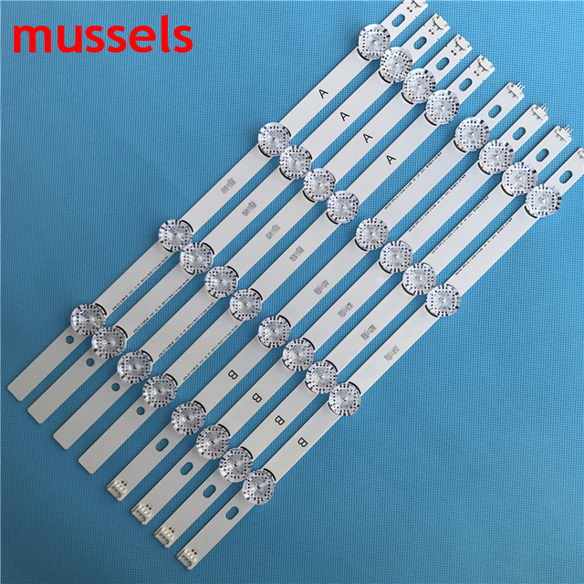 "LED Backlight strip  For LG 40"" TV 8 lamp Original 40LF630V SVL400 HC400DUN VCKN1 211X VCKN5 214X 40LH5300 INNOTEK New Wholesale"