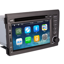 2 Din In Dash Car Monitor DVD Player for Volvo S60 V70 XC70 2000 2001 2002 2003 2004 with GPS RDS AM FM Radio USB SD