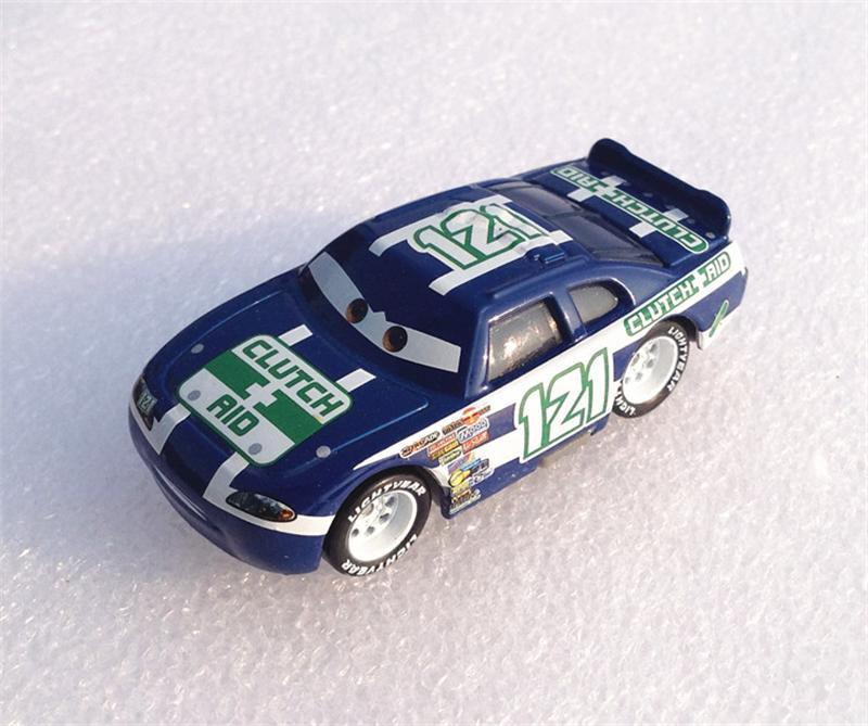 Voitures Disney Pixar no 121 Racer 155 modèle en alliage métallique moulé sous pression mignon jouet voiture pour enfants cadeaux de noël foudre McQueen