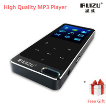 Original RUIZU X19/X05S All Metal Touch Screen HIFI MP3 Player Built-in Speaker 8GB High Quality Lossless Sound Player with FM