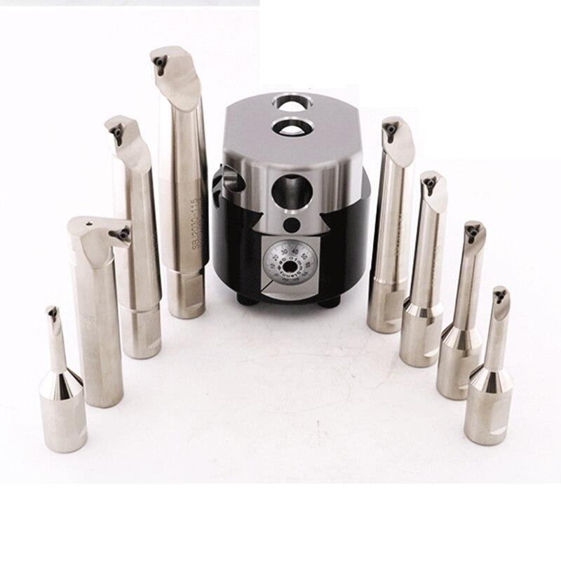 Free Shipping Good Price SBJ2008 1PCS Boring Bar NBH2084 Cylinder Tool 32mm Tool Shank For NBH2084 Boring System Head