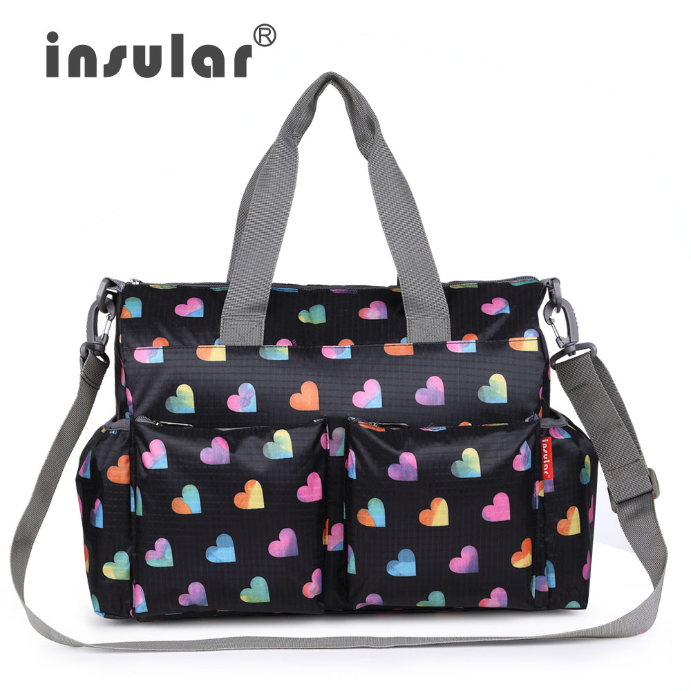 insular baby diaper bags nappy bag multifunction mother shoulder bag Fashion Maternity Mummy Handbag Baby