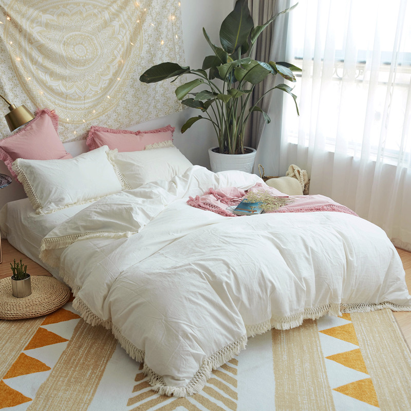 100% Cotton Soft Bed sheet set Girls White Pink Grey Bedding sets Kids Adults Queen Twin King size Duvet cover Bed sheet set100% Cotton Soft Bed sheet set Girls White Pink Grey Bedding sets Kids Adults Queen Twin King size Duvet cover Bed sheet set