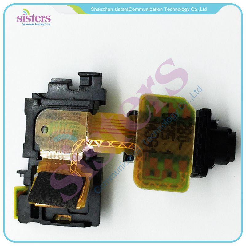 10PCS Wholesale Ear Earphone Headphone Jack Audio Flex Cable Repair Parts For Sony Xperia Z3  D6603 D6643 D6653 Free Shipping