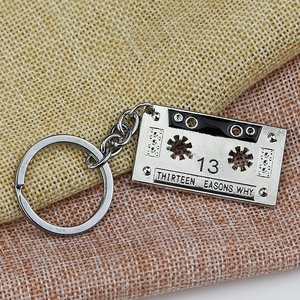 13 Reasons Why Creative New Fashion Men Women Audio Tape Pendant Necklace Cassette Tapes 13 Reasons Why Jewelry Gifts 2018