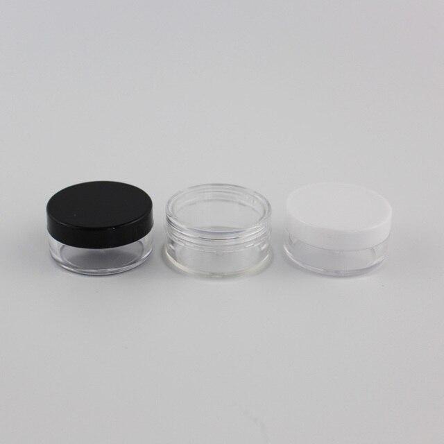 10g X 100 Trống Rỗng Nhựa Đựng Mỹ Phẩm Size Nhỏ Đựng Chai Lọ Đựng Trong Suốt Cho Lưu Trữ Trong Suốt Kem Tín Nồi Cho Da kem Móng Nghệ Thuật