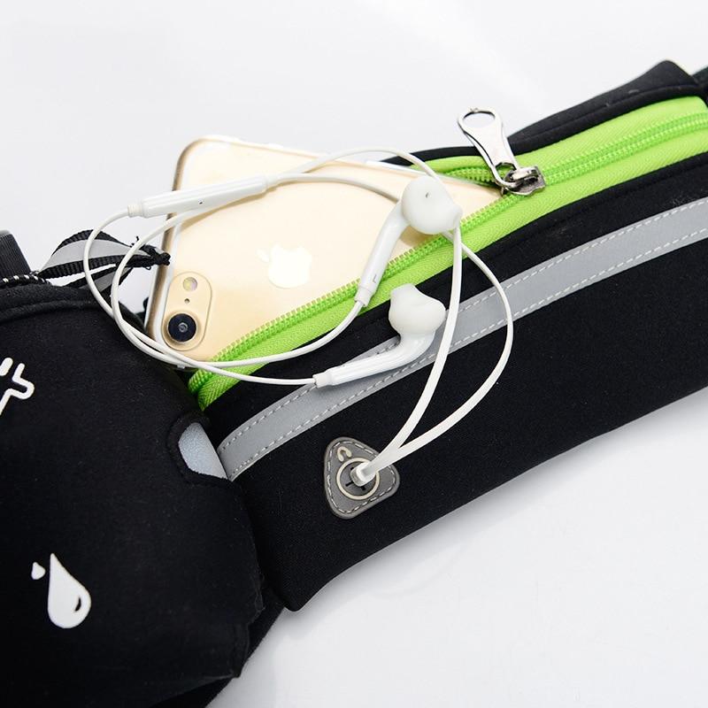 Mobile Phone Water Bottle Belt Lightweight Running bag brassard sport Sport Waist Pack Universal Case For apple iPhone 8 X 7plus in Phone Pouches from Cellphones Telecommunications