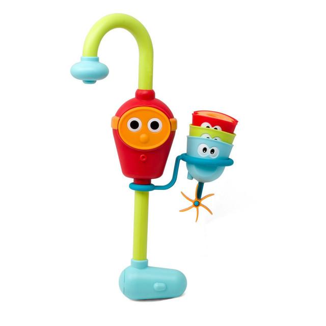 Brinquedo do Banho do bebê-Fluxo N Preencher Bico Bico-Três Copos Empilháveis e Automatizado