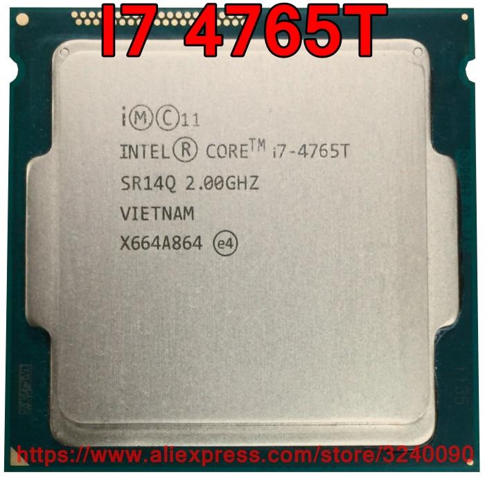 Original Intel CPU CORE I7 4765T Processor 2 00GHz 8M Quad Core I7 4765T Socket 1150