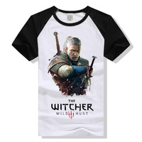 The Witcher 3 T Shirt Witcher3 Wild Hunt Geralt Of Rivia T Shirt Men Women Tshirt