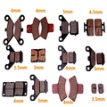 Brake Pads 50cc,70cc,90cc,110cc,125cc,140cc,150cc,160cc ATV Quad Dirt Pit Bike Parts Two Strokes Mini Motor Scooter