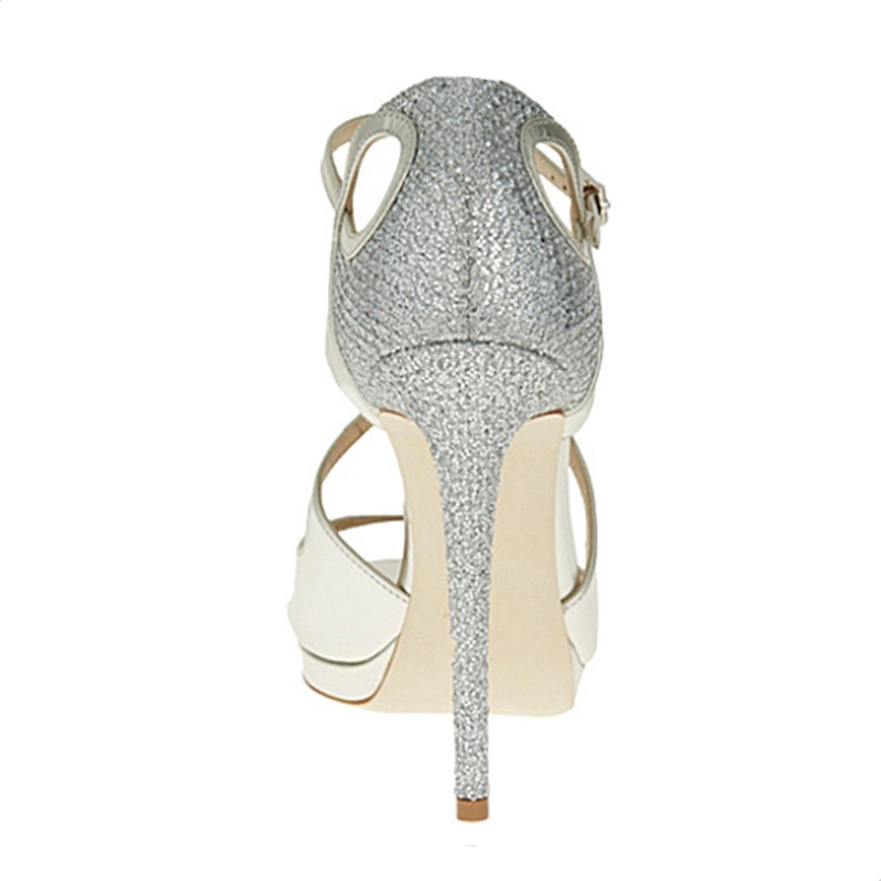Silver Boucle Désherbage Élégant Soirée Zyl236 Sexy De Sangle Talons Hauts Enmayer Taille Dame Extrêmement Chaussures Classique Femmes 34 Nouvelle Mode 43 Grande Cxvwq1g