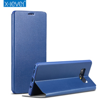 X Level Ultra Thin Case For Samsung Galaxy Note 8 Cover Flip Leather Slim Phone Case