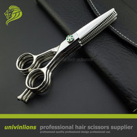 5.5 top professional multi blade scissors hairdresser supplies barber scissors hairdressing shears double thinning scissors cut