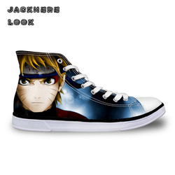 Jackherelook men high top canvas shoes japanese cartoon anime print lace up men s casual vulcanize.jpg 250x250