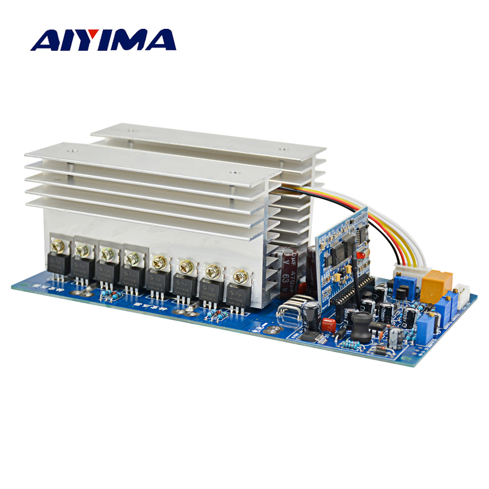 цена на Aiyima 3000W Pure Sine Wave Power Frequency Inverter Board DC 24V 48V 60V to AC 220V 1500W 3500W with Perfect Protection