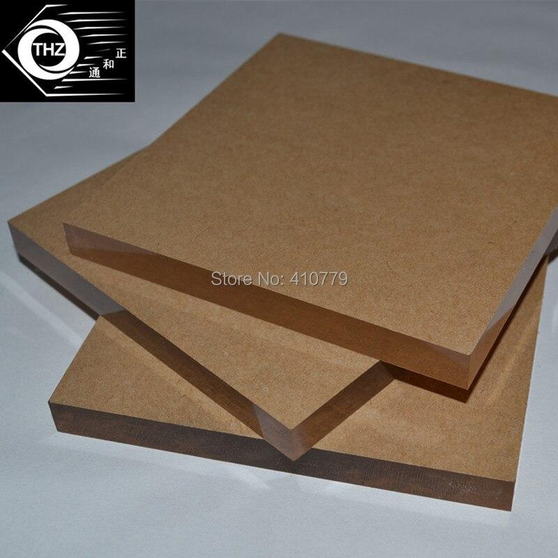 e2210d01b (75 قطعة/الوحدة) 100x100x10 ملليمتر البلاستيك الشفاف البرسبيكس صفائح  الاكريليك واضحة الأعمال متجر ديكور شحن قطع أي حجم