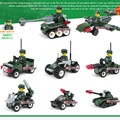 2017 New Mini Military Army Blocks Car Tank Swat Weapons Soldiers Bricks Building Block Eductional Toys for Boys Girls Children