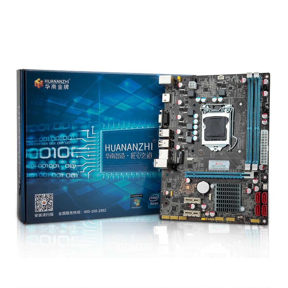 H61 desktop motherboard LGA1155 for i3 i5 i7 CPU support ddr3 memory