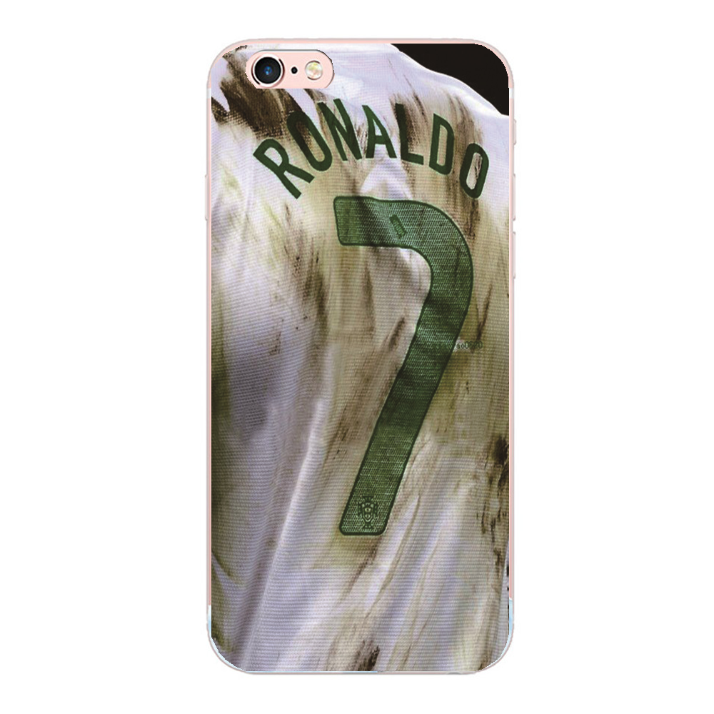 Cristiano Ronaldo hard cover For iphone 5 5S SE 5C 4 4S 7 6S 6 plus phone case For Samsung Galaxy S4 S5 S3 S7 S6 edge G9250