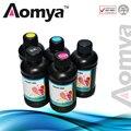 [250 ml] tinta uv led para epson uv impressora de mesa de vidro/madeira/metal/pvc (bk/c/m/y/branco)